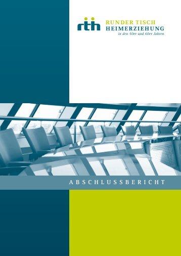 Abschlussbericht - Runder Tisch Heimerziehung