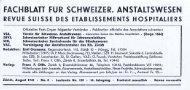 Hans Anliker, Vorsteher Knabenerziehungsanstalt Oberbipp ...