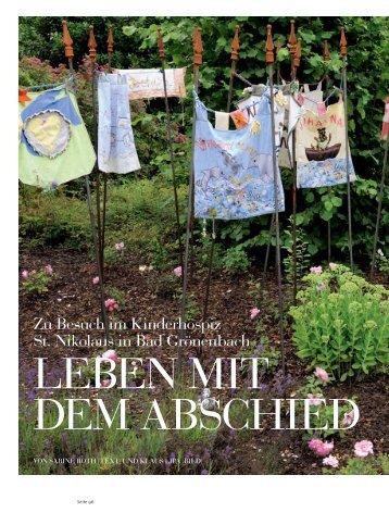 Zu besuch im Kinderhospiz st. nikolaus in bad Grönenbach