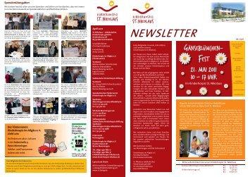 Newsletter 04/2011 als PDF-Dokument - Kinderhospiz St. Nikolaus