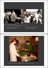 Prof. Dr. Helmut Singer Leiter der Kinderkardiologie Erlangen 1987 ...