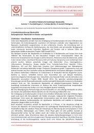 Myokarditis - DGPK-Deutsche Gesellschaft für Pädiatrische ...