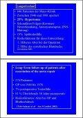 Aortenisthmustenose Aortenisthmusstenose - Seite 2