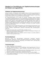 Standard zur Durchführung von Kipptischuntersuchungen bei ...