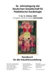 Handbuch - DGPK-Deutsche Gesellschaft für Pädiatrische Kardiologie