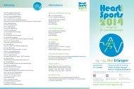 Heart and Sports 2014 - DGPK-Deutsche Gesellschaft für ...