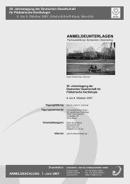 anmeldeunterlagen - DGPK-Deutsche Gesellschaft für Pädiatrische ...