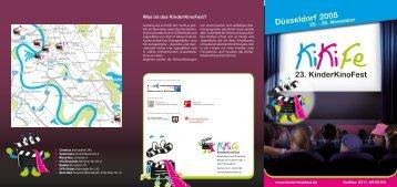 Programmheft2008 - KinderKinoFest