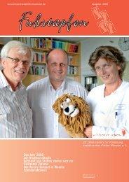 Das Jahr 2008 Die Rhabtoid-Studie Vorstand und Station stellen ...