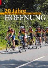 20 Jahre Hoffnung. Jubiläumstour der Regenbogenfahrt führte von ...