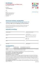 Anmeldebogen Anmeldeschluss: 24. Februar 2012 Hirntumoren im ...