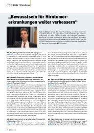 Der Hamburger Kinderonkologe Prof. Dr. med. Stefan Rutkowski ...