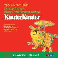 Programm 2013 - KinderKulturKarawane