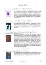 Literatur Suizid (PDF, 97 KB)