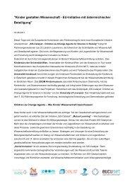 PA SiSCatalyst (PDF, 826 KB) - ZOOM Kindermuseum