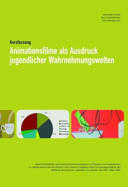 Animationsfilme als Ausdruck jugendlicher Wahrnehmungswelten