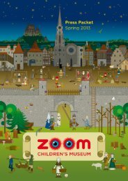 Spring 2013 (PDF, 2.202 KB) - ZOOM Kindermuseum