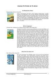 Literatur für Kinder ab 10 Jahren (PDF, 75 KB)