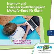 Internet- und Computerspielabhängigkeit ... - aha Ravensburg