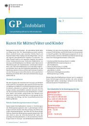 Informationsblatt - Kinder Pflege Netzwerk