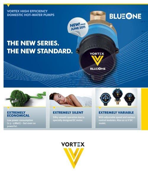 Brauchwasserpumpe 433-111-001 Vortex BWO 155 V BlueOne Deutsche Vortex