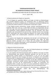 Förderkriterien des Landes - Kinderrechte Rheinland-Pfalz
