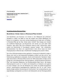 Pressemeldung - Kinderrechte RLP - in Rheinland-Pfalz