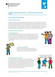 Rechte von Mädchen und Jungen - Kein Raum für Missbrauch