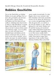 Robbies Geschichte - Kinder lesen und schreiben für Kinder e.V.