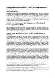 Kinderland Schleswig - herzlich willkommen 2011 - Kinderschutz ...