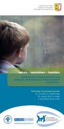 sehen – verstehen – handeln - Kinderschutz-Zentrum Kiel