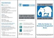 Flyer Paten-Projekt - Kinderschutzbund Rheinisch-Bergischer Kreis