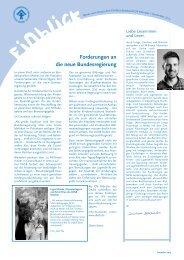 einblick dezember 2013 - Kinderschutzbund