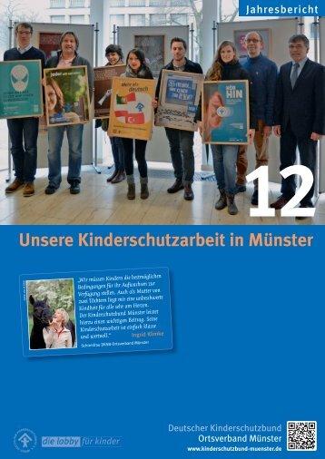 Jahresbericht 2012 - Kinderschutzbund