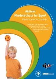 Aktiver Kinderschutz im Sport - Schleswig-Holstein