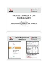 Unfälle bei Kleinkindern in Brandenburg - Mehr Sicherheit für Kinder