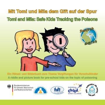 Mit Tomi und Mila dem Gift auf der Spur - Mehr Sicherheit für Kinder