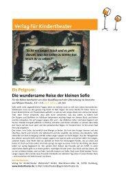 Leseprobe - Verlag für Kindertheater