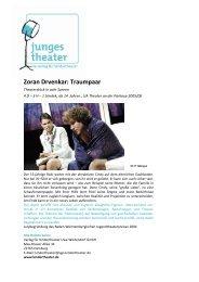 Zoran Drvenkar: Traumpaar - Verlag für Kindertheater