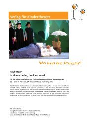 Wo sind die Prinzen? - Verlag für Kindertheater