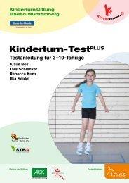 Kinderturn - TestPLUS - Kinderturnstiftung Baden-Württemberg