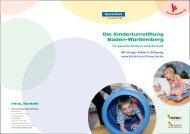 Die Kinderturnstiftung Baden-Württemberg