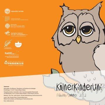 broschüre chipkarte - Universität zu Köln