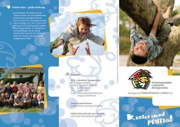 Flyer - Kindervereinigung Chemnitz