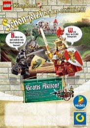 Werde Ritter im LEGO Königreich! Blättere um ... - Kinderwelt Hitzler