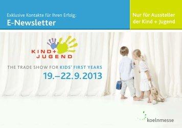 Mediadaten der Newsletter - Kind + Jugend