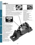 MOUNTED Bearings Catalog Katalog eingebaute ... - Dodge-pt.com - Page 6