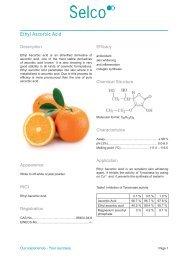 Ethyl Ascorbic Acid - Kinetik