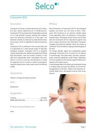 Selco Coenzyme Q10 Leaflet - Kinetik
