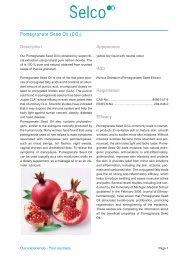 Pomegranate Seed Oil (CO2) - Kinetik